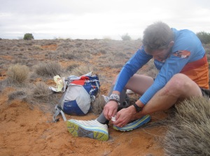 Spinifex & blisters. If it was easy, we probably wouldn't do it.