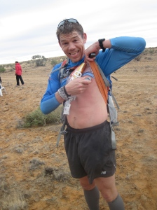There isn't much a desert runner won't do for lube.